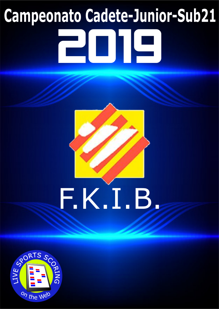 Campeonato Cadete-Junior-Sub21 FKIB 2019