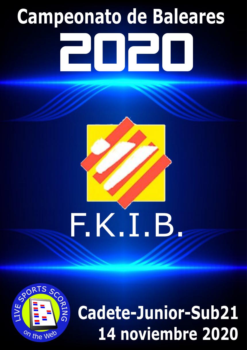 Campeonato de Baleares 2020 Cad-Jun-Sub21
