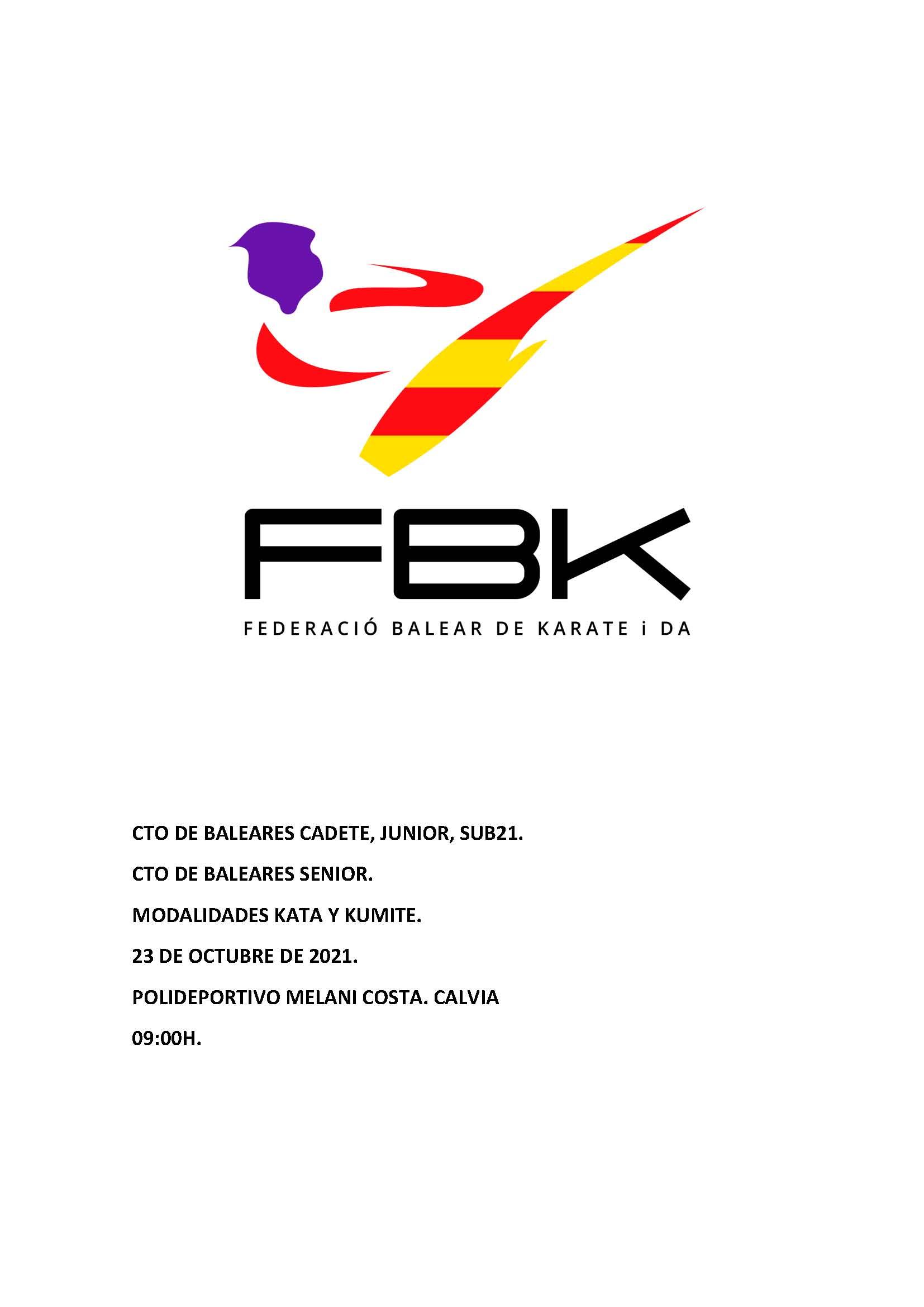 Campeonato de Baleares 2021 CJS21-Sen
